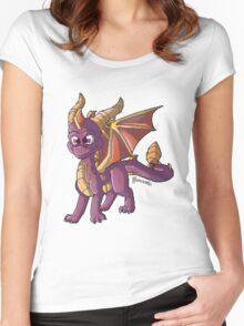 Cute little Spyro Women's Fitted Scoop T-Shirt