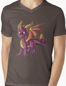 Cute little Spyro Mens V-Neck T-Shirt