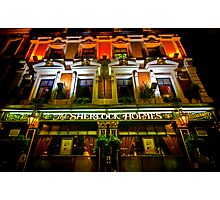 The Sherlock Holmes Hotel, London Photographic Print