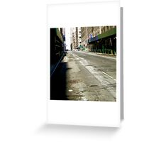 Cleared For The Parade Greeting Card