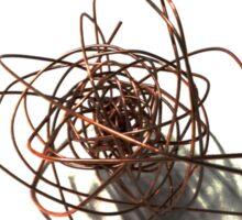 wire sculpture Sticker