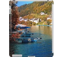 Boats in the harbour | waterscape photography iPad Case/Skin