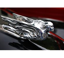 Chrome Lady Photographic Print
