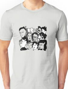 Fringe Faces Unisex T-Shirt