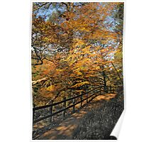 New Lanark in the Fall - A Scottish Autumn Poster