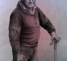 Portrait of an elder 2 by Cyeclops
