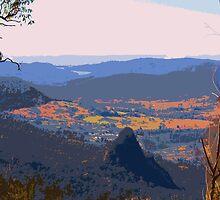 View from Binna Burra #1  by Virginia McGowan