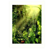 Cottage Vines Art Print