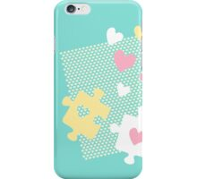 Pastel Lover's Puzzles iPhone Case/Skin