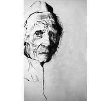Portrait of a Man from Memory Photographic Print
