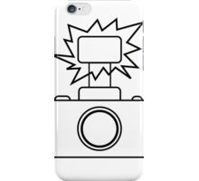 Camera SLR Flash_outline iPhone Case/Skin