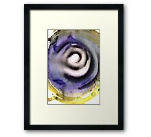 Santa Fe Waterfall Whirl  Framed Print