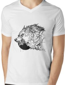 Werewolf moon inks Mens V-Neck T-Shirt