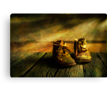 First shoes Canvas Print