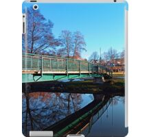 A bridge, the river and reflections II | waterscape photography iPad Case/Skin