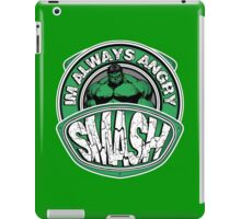 Smash - Im Always Angry iPad Case/Skin