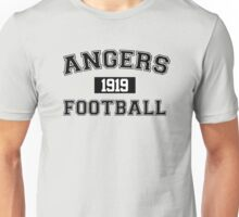 Angers Football Athletic College Style 1 Gray Unisex T-Shirt