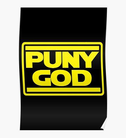 Puny God Poster