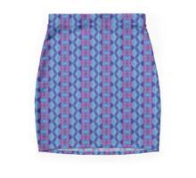 Purple & blue waves Mini Skirt