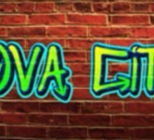 New Graffiti style design Nova City Sticker