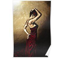 Flamenco Woman Poster