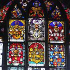 Bern Munster Stained glass Windows by Elena Skvortsova