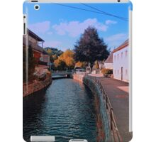 The river through the village center | waterscape photography iPad Case/Skin