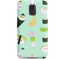 Kawaii Bento Box Print - Mint Samsung Galaxy Case/Skin