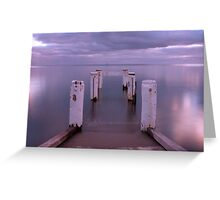 Port Vincent Jetty Greeting Card