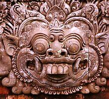 Boma Sculpture, Royal Palace, Ubud, Bali by JonathaninBali