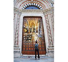Remember Siena Photographic Print