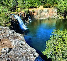 Old Swimming Hole. by Woomera