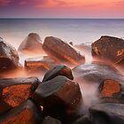 Rocks from the embers by Saleh Rubat