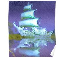 ghost pirate ship Poster
