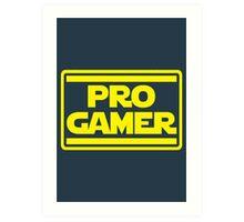 Pro Gamer Art Print