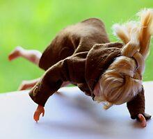 Doll tripping by Lynn Ede