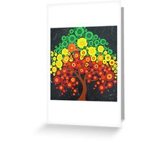 Trees of Joy Greeting Card