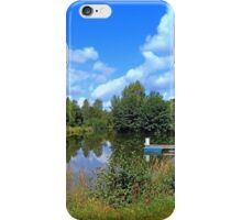 At the fairytale pond | waterscape photography iPhone Case/Skin