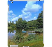 At the fairytale pond | waterscape photography iPad Case/Skin