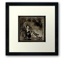 Gothic Dreamer Framed Print