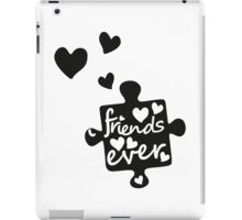 Best Friends Forever Connection Puzzle (right) iPad Case/Skin