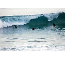 Surfers Photographic Print