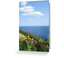 Cape Breton - Golden Rod Greeting Card