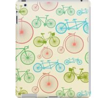 colourful bicycles iPad Case/Skin