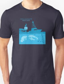 Save a Manatee - Boat Safe T-Shirt