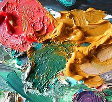 A Painters Palette by rokinronda