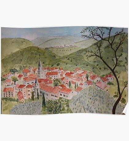 Bargemon, Provence Poster