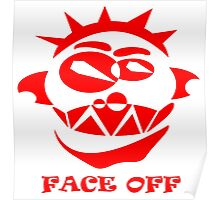 Face Off(Red) Poster