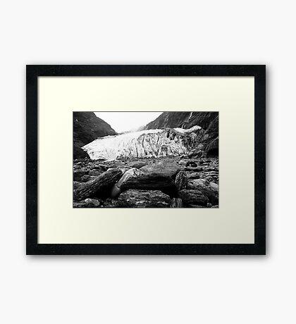 Franz Joseph Glacier Framed Print