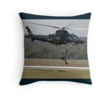 Air Sea Rescue Demonstration @ Nowra Airshow 2008 Throw Pillow